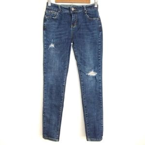 Moschino Distressed Blue Jeans